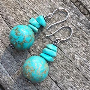 Blue Stone Earrings 5/$25
